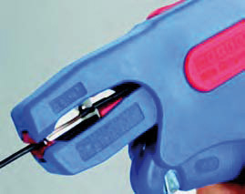 Стриппер для кабелей типа NYM и круглых проводов WEICON № 7-R