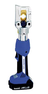 Электрогидравлические аккумуляторные прессы серии KLAUKE-Mini+