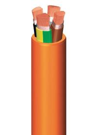 Огнеупорные гибкие силовые кабели SEGURFOC-331 SZ1-K 0,6/1кВ PH90-лс-нф