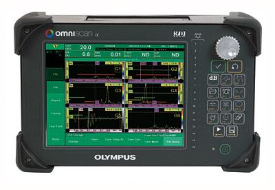 Промышленный дефектоскоп Olympus OmniScan IX