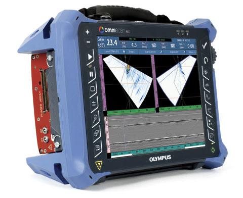 Промышленный дефектоскоп Olympus OmniScan MX2 UT/TOFD