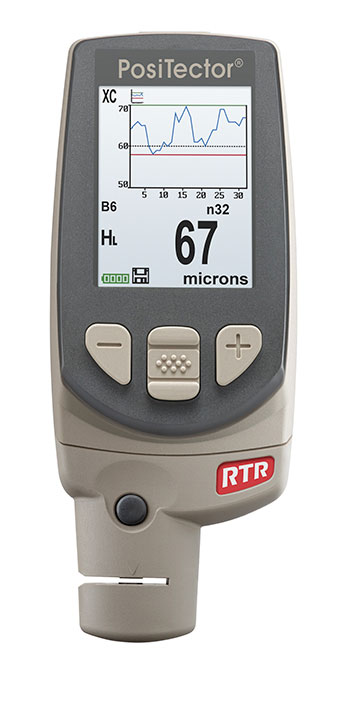 Цифровой толщиномер DeFelsko PosiTector RTR для определения шероховатости