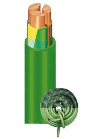 Гибкие силовые кабели EXZHELLENT XXI RZ1-K 0,6/1 кВ нГ-LS-HF повышенной пожарной безопасности